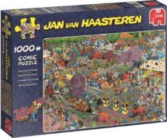 Puzzel JvH - De Bloemencorso 1000 stukjes - Legpuzzel Jumbo Jan van Haasteren