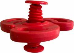 AWR Spinning Jump Spinners Fidget   Spin Flip Spinners   Bouncing Spinner - Rood