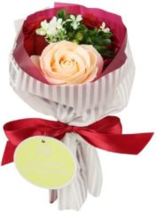 Jeanne en Provence Badeblüte-Rosenstrauß rot