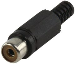 Zwarte Valueline CC-106B kabel-connector