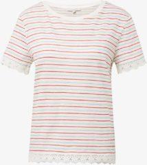 Tom Tailor t-shirt dames - ecru - 1007881 - maat S