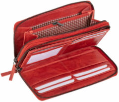 Juscha JU-42175 Portefeuille Mika Rood Dame 23x13x4cm