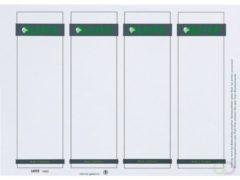 Leitz 16800085 56 x 190 mm Papier Grijs 100 stuks Permanent Ordneretiketten Inkt, Laser, Kopie