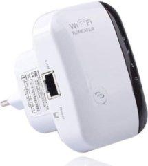 Merkloos / Sans marque Wifi versterker wit - Signaalversterker- Wifi powerline - Inclusief GRATIS internetkabel - Wifi extender - Wifi versterker stopcontact - Wifi repeater