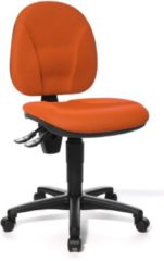 TopStar Bureaustoel Point 10 - Donker Oranje