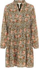 Groene Object Objsteph Gia L/s Short Dress 113 Di 23035334 Forest Night/flower