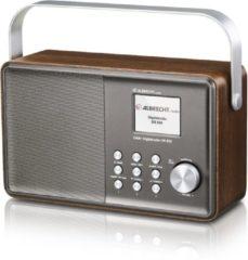 Bruine Albrecht DR 855 digitale radio, DAB + / FM Muziekstreaming, kleurendisplay - Incl Accu