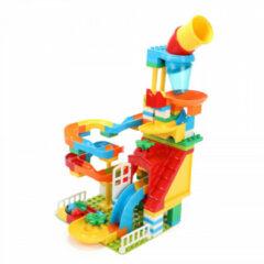 Toitoys Toi-toys Knikkerbaan Blocks Junior Groen/rood/blauw 133 Stuks
