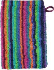 Cawö Lifestyle Streifen Babywashandje multicolor 16x22