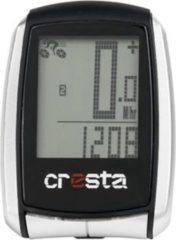 Cresta PFC560 Fietscomputer - Draadloos - 22 functies - Zilver/Zwart