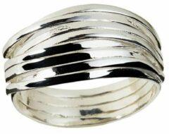 Juulry Zilver Gevlochten Ring