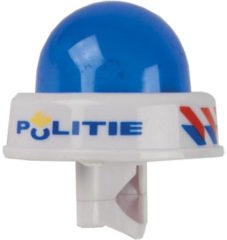 Blauwe Johntoy fietsbel Bike Fun politie sirene licht blauw