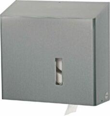 Zilveren SanTRAL S319800 Classic RVS Duo Toiletrolhouder (S319800)