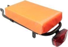 Hooodie Cushie enZo Petit Bagagedrager Kussen - Oranje