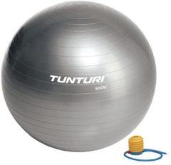 Tunturi Fitnessbal - Gymball - Swiss ball - Ø 90 cm - Inclusief pomp - Zilver