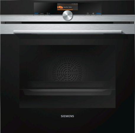 Afbeelding van Siemens HB636GBS1 inbouw oven 60 cm hoog met ecoClean