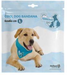 Blauwe H.A.C Coolpets Koelbandana Petrol - Hondenverkoeling - Large