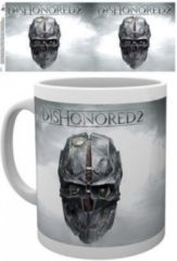 Grijze GB eye Dishonored 2 Mok - Key Art