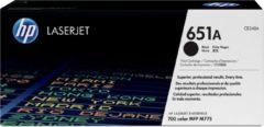 Zwarte HP 651A originele toner cartridge zwart standard capacity 13.500 pagina's 1-pack
