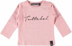Your Wishes longsleeve Tuttebel met tekst roze