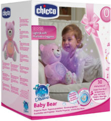 Chicco Knuffel Projector Baby Bear First Dreams Roze (4050151)