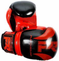 PunchR™ Punch Round Bokshandschoenen SLAM Pin Dott Zwart Rood 16 OZ Bokshandschoenen