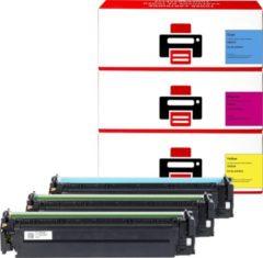Pixeljet HP 128A (CF371AM) Toner Cartridge - Cyaan Magenta Geel