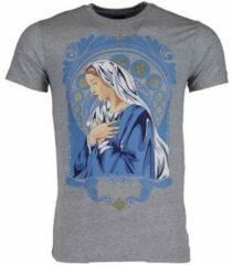 Grijze T-shirt Korte Mouw Mascherano T-shirt - Holy Mary