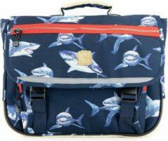 Marineblauwe Pick & Pack Shark rugzak - Navy