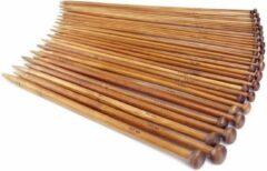 Bruine Sitna Houten Bamboe Breinaaldenset Set van 36 Stuks - Breinaald