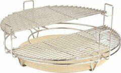 Witte Grill Care Divide & Conquer System voor 21″ Kamado