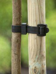 Zwarte Nature Boomband met gesp 45x2,5cm