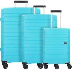 Kosmos 4-Rollen Kofferset 3tlg. Travelite aqua