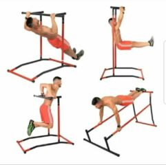 Rode Merkloos / Sans marque Calisthenics Pull up Rack