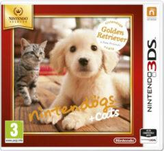 Nintendogs + Cats, Golden Retriever & Nieuwe Vrienden - Nintendo Selects - 2DS + 3DS