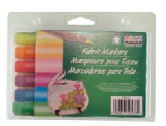 Marvy Uchida Textielstiften Brush Neon 6 Stuks