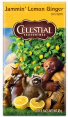 Celestial Seasonings Celestial Season Jammin' Lemon Ginger Tea (20st)