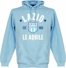 Merkloos / Sans marque Lazio Roma Established Hooded Sweater - Lichtblauw - S