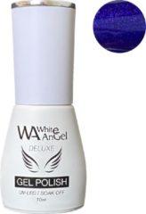 Blauwe Gellex White Angel Gellex Deluxe Gel Polish, gellak, gel nagellak, shellac - Tanzanite 240