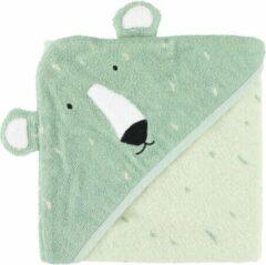 Trixie Badcape Mr. Polar Bear 75 X 75 Cm Biologisch Katoen Groen