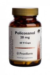 Proviform Policosanol 20mg Voedingsupplement Capsules