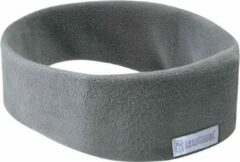 SleepPhones® Draadloos v7 Fleece Soft Gray/Grijs - Large/Extra Large