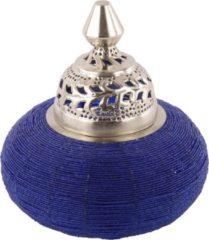 Collectione Tafellamp Arabesque klein 31 cm blauw