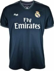 Zwarte Real Madrid CF Real Madrid Uit Shirt 18/19 - Senior