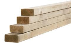 Woodvision Tuinhout regel NE Vuren | 45 x 95 mm | 300 cm