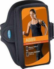 Zwarte Tune Belt Sport Armband AB89 Black
