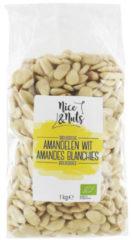 Nice & Nuts Amandelen Wit Bio (1000g)