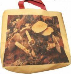 Bruine LEBO tassen Paddestoel Tas