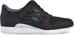 Zwarte Asics Gel-Lyte III DN6L0-9090, Unisex, Zwart, Sneakers maat: 39.5 EU