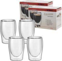 4x Scanpart Espresso Thermo Glazen - 8cl